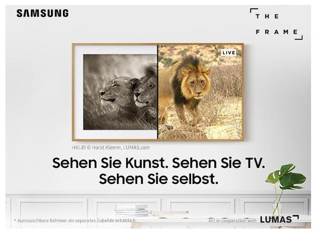Lifestyle TV von Samsung