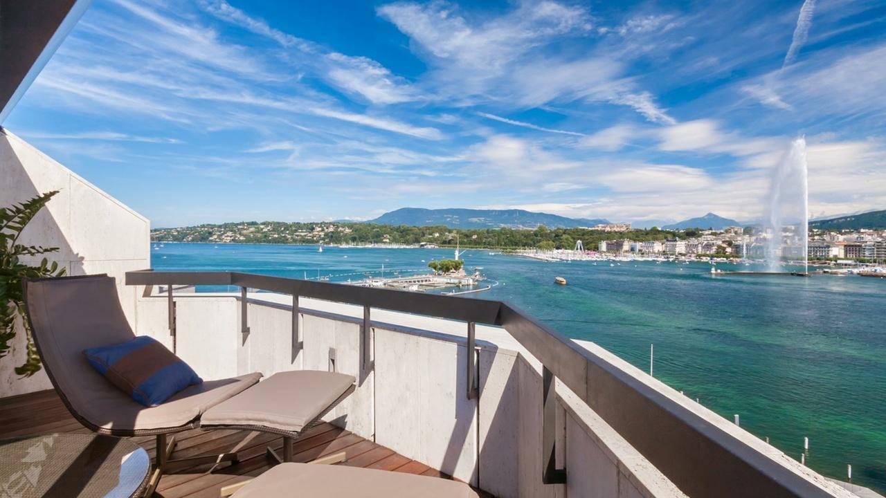Grand-Hotel-Kempinski, Geneva Suite, Terrasse