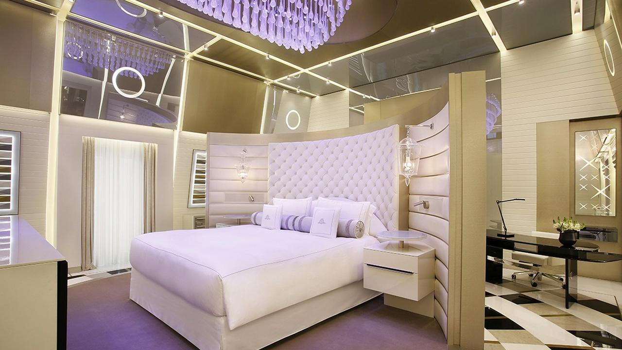 Schlafzimmer in der Katara-Suite