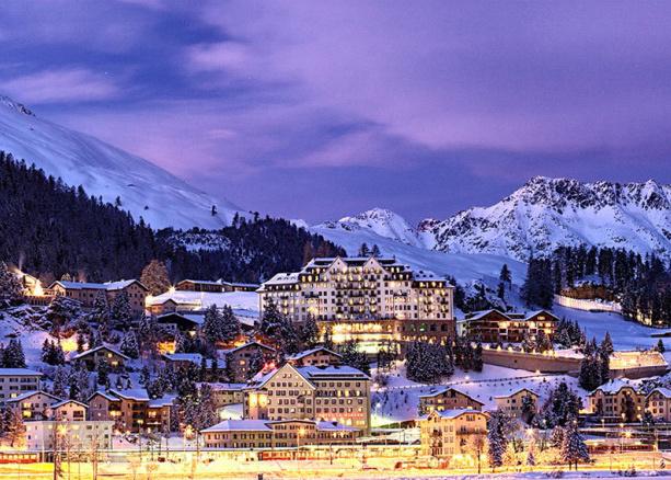 Carlton Hotel St. Moritz in der Schweiz