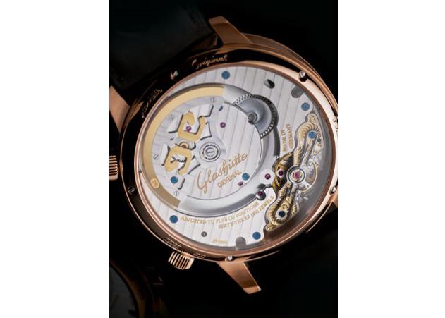 Uhrwerk Glashuette Original Senator Cosmopolite