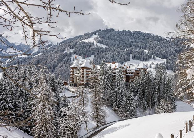 Alpina Gstaad im Winter