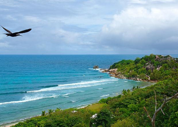 Indischer Ozean Cousine Island