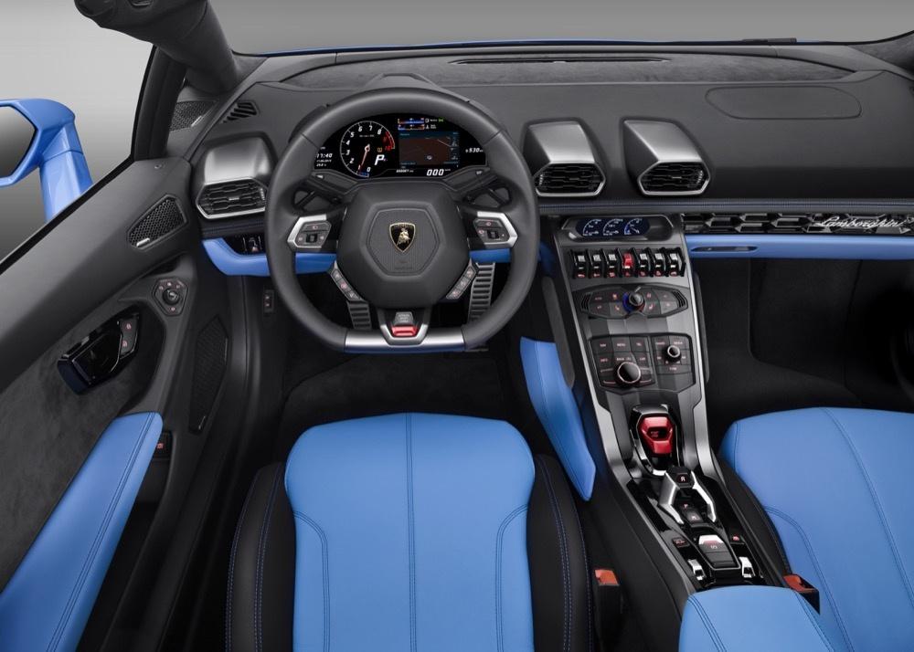 Lamborghini Huracán blau