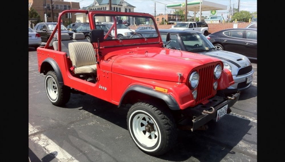 Jeep cj 7