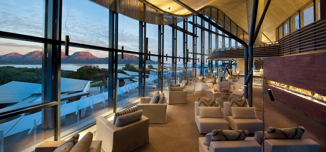 Saffire-Freycinet, Lounge