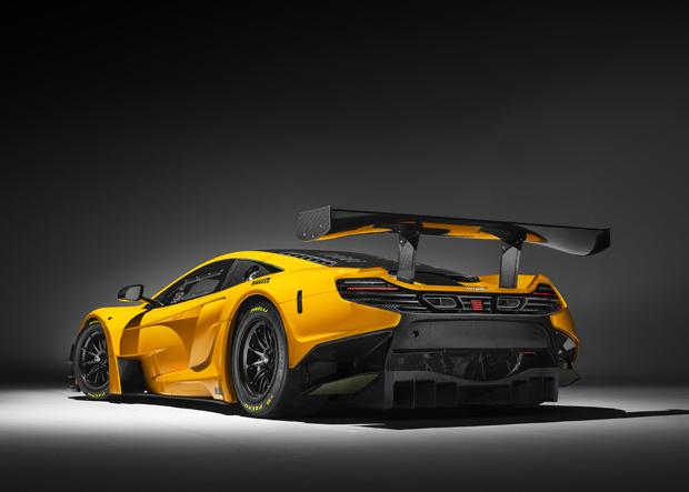 McLaren 650s GT3 Heck
