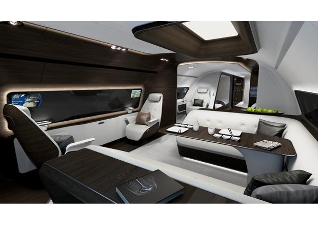 Mercedes-Benz Style VIP-Kabine, VIP-Flieger, VIP-Kabine, Lufthansa Technik