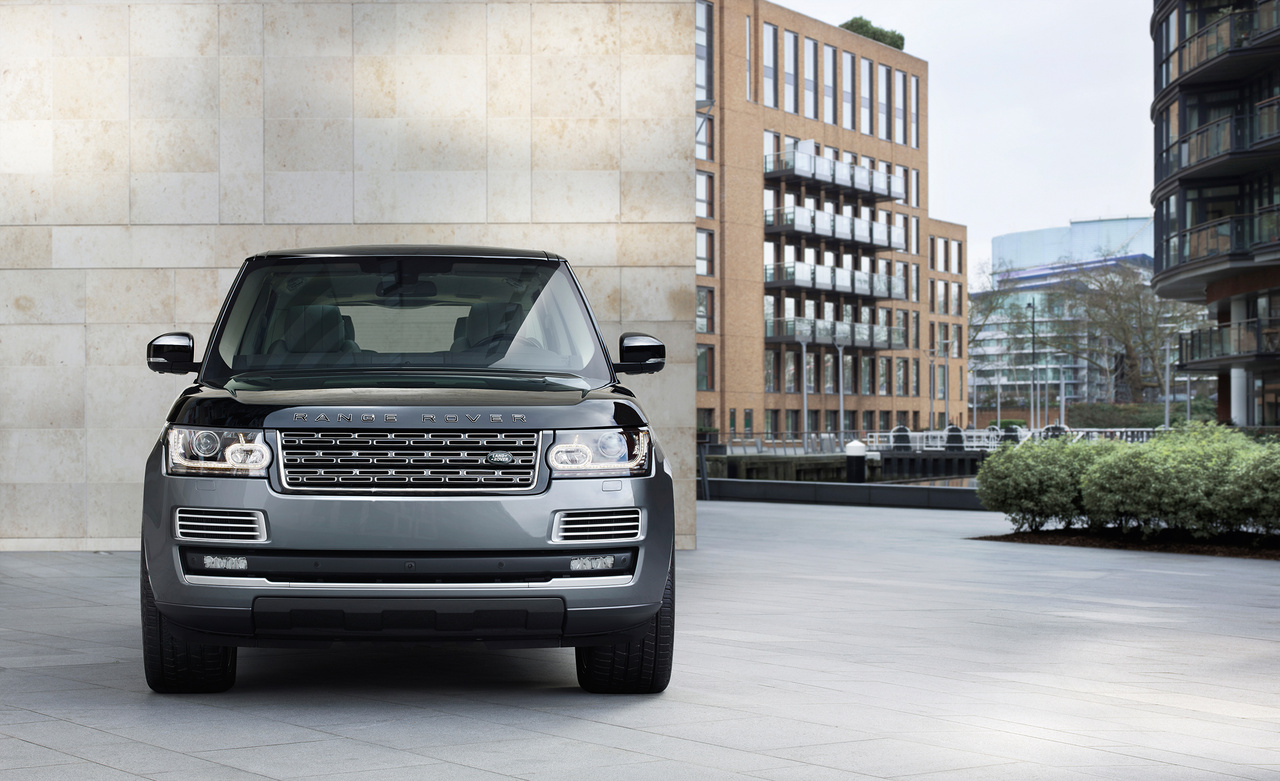Land-Rover-Range-Rover-SV-Autobiography, Frontansicht