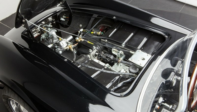 Motor eines Junior Cars