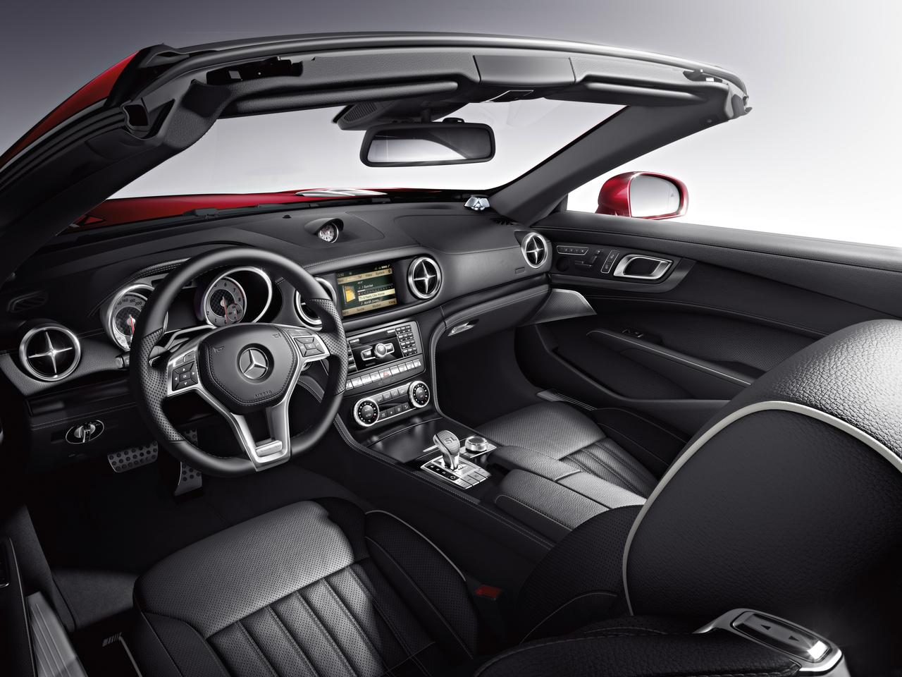 2017 Mercedes-Benz SL Roadster Innenraum