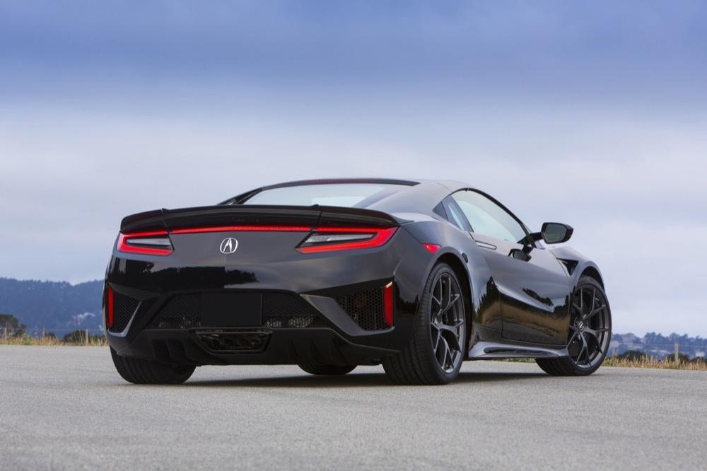 schwarzer Acura NSX