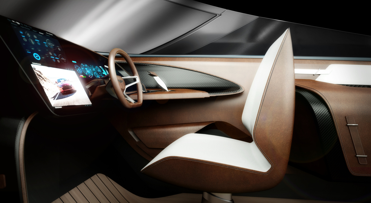 Aston-Martin-AM37, Interieur