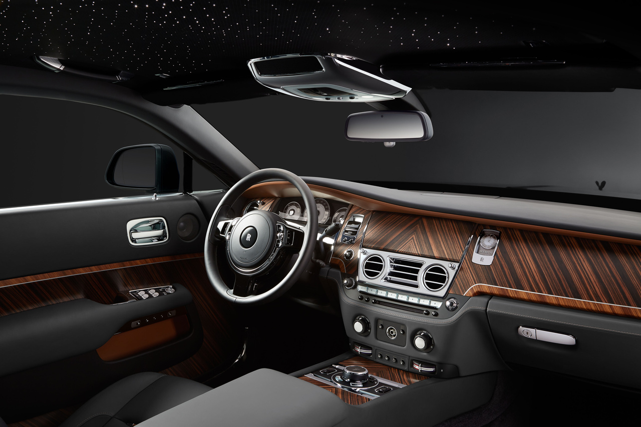 Innenaustattung des Rolls Royce Wraith