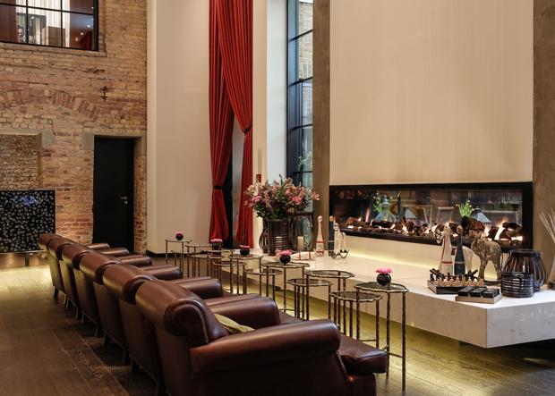 HOTEL ZOO BERLIN Kamin