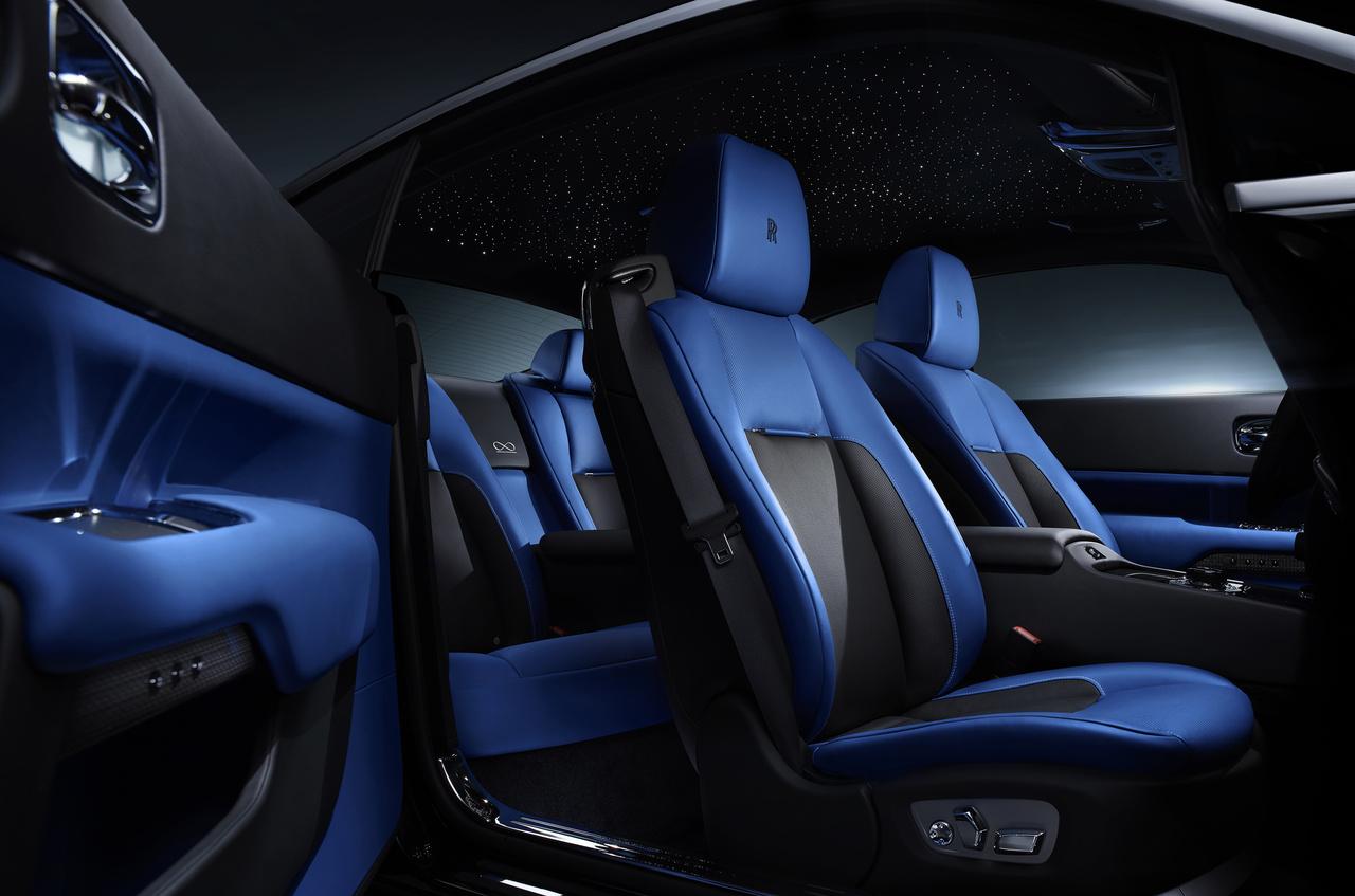 Innenraum des Rolls-Royce Black Badge
