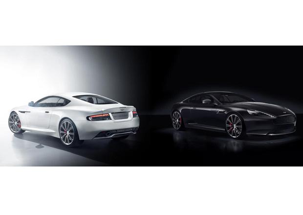 schwarzer Aston Martin DB9 Carbon Black