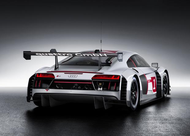 Audi R8 LMS GT3 Heck