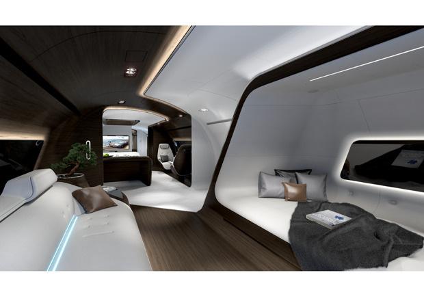 Mercedes-Benz Style VIP-Kabine, Lufthansa Technik, VIP-Kabine, VIP-Flieger