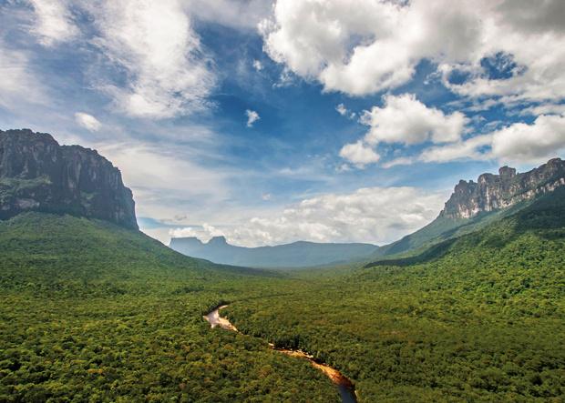 Tafelberge in Venezuela