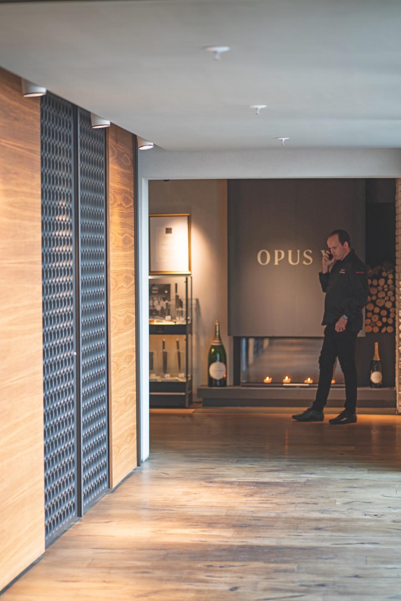 Restaurant Opus V in Mannheim