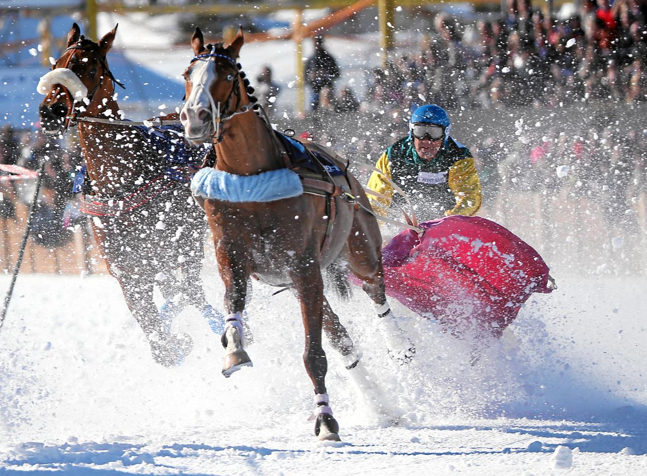 White Turf, Schweiz, Pferderennen