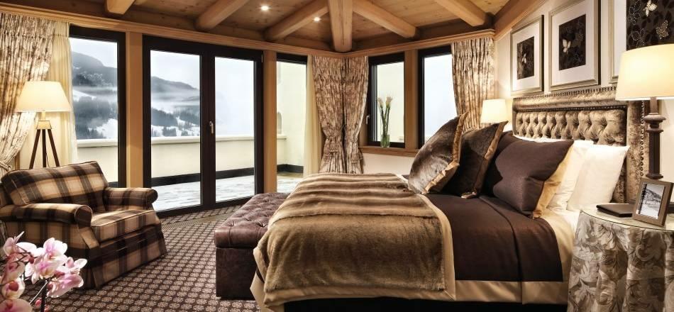 Gstaad-Palace, Schlafzimmer, Bern, Luxushotel