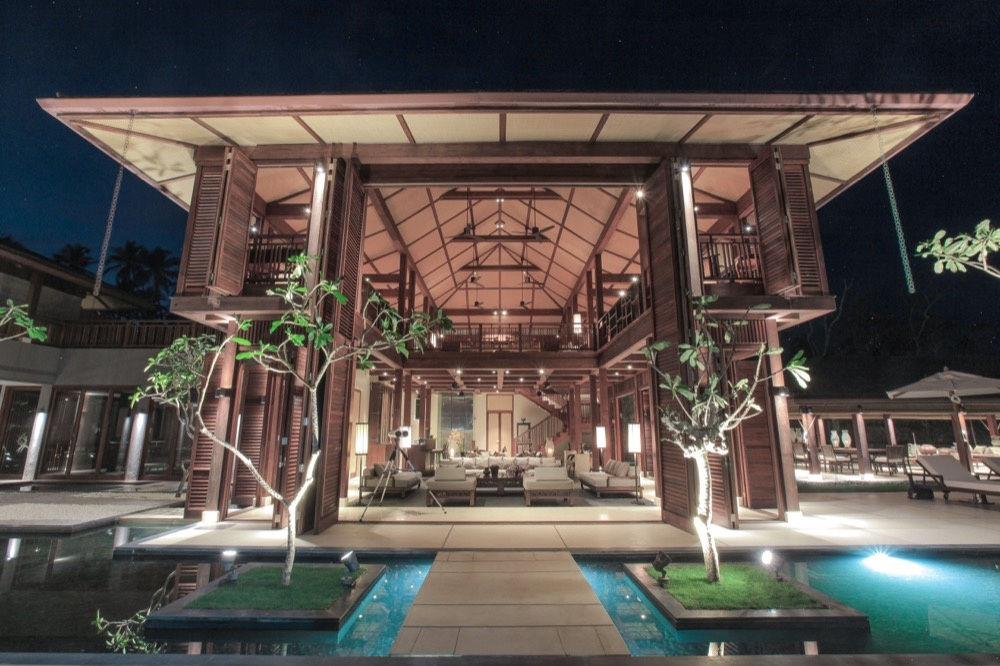 Außenbereich der Ani Villas