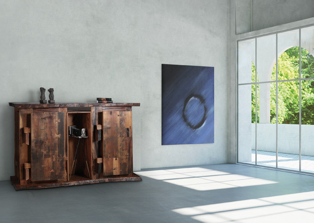 Blaue Bohne, Atelier Maria Luggau, Einzelstück