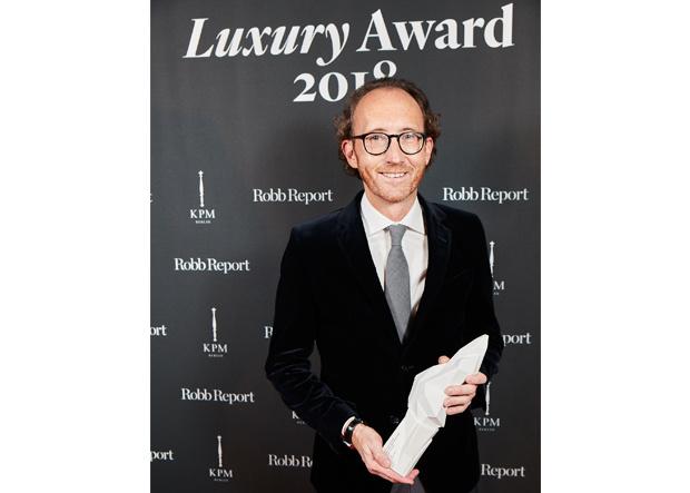 Robb Report Luxury Award 2018