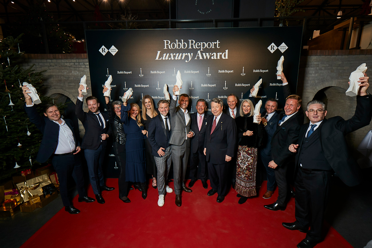 Robb Report Luxury Award