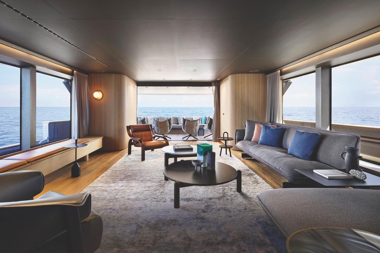 Sanlorenzo Yacht Main Deck Salon