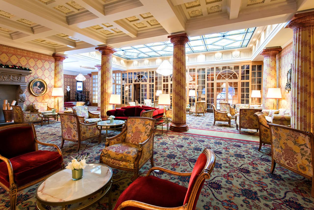 Kulm-Hotel, Lobby
