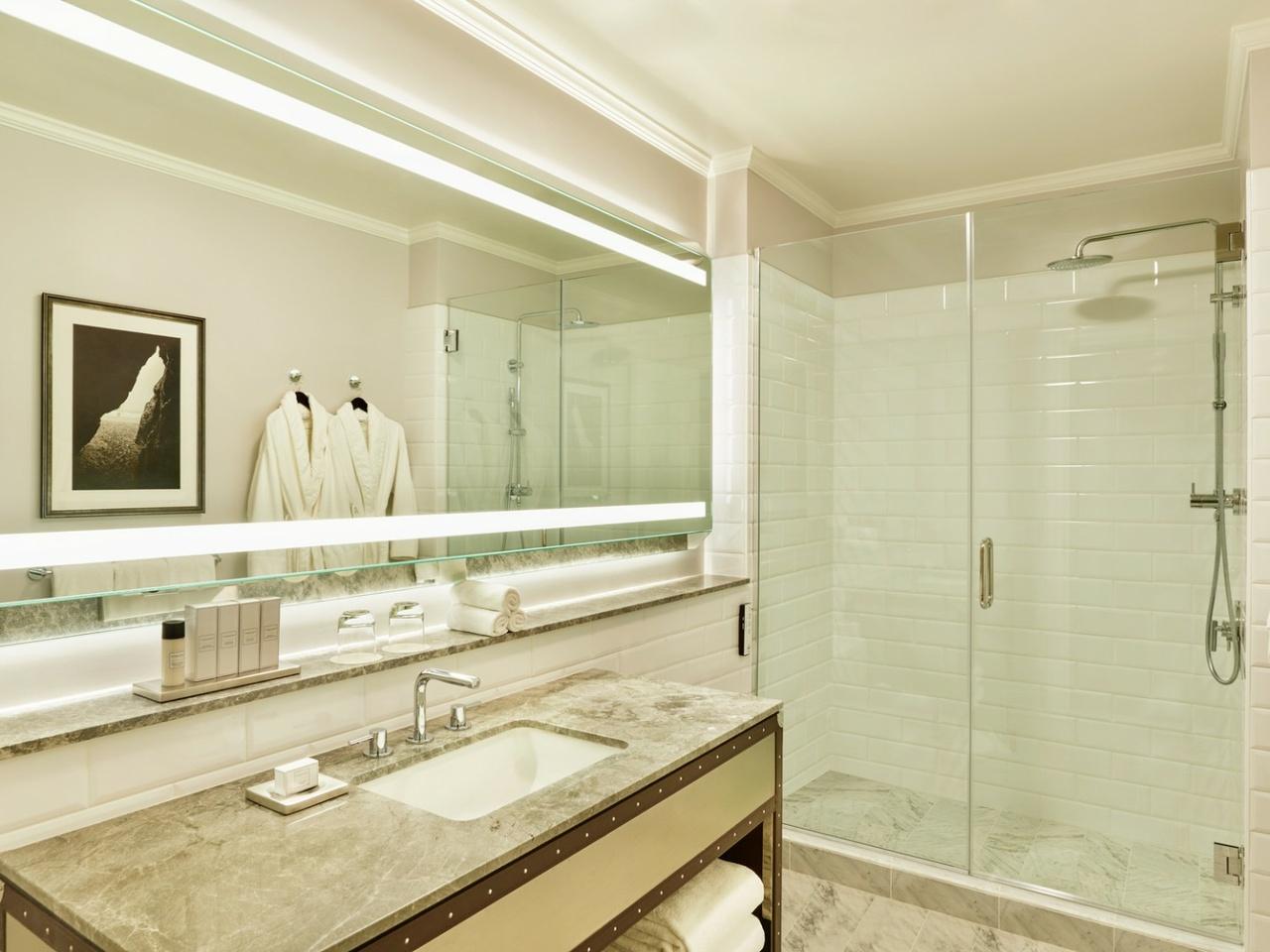 Badezimmer im Palace Hotel San Francisco