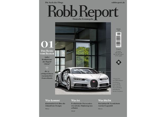 Erste Ausgabe Robb Report