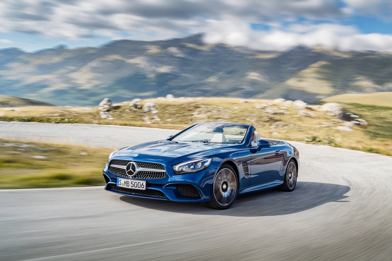 Mercedes-Benz SL Roadster Cabrio