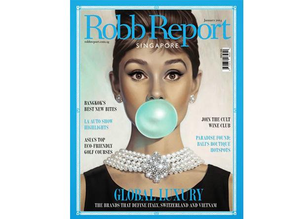 Cover der Robb Report Ausgaben