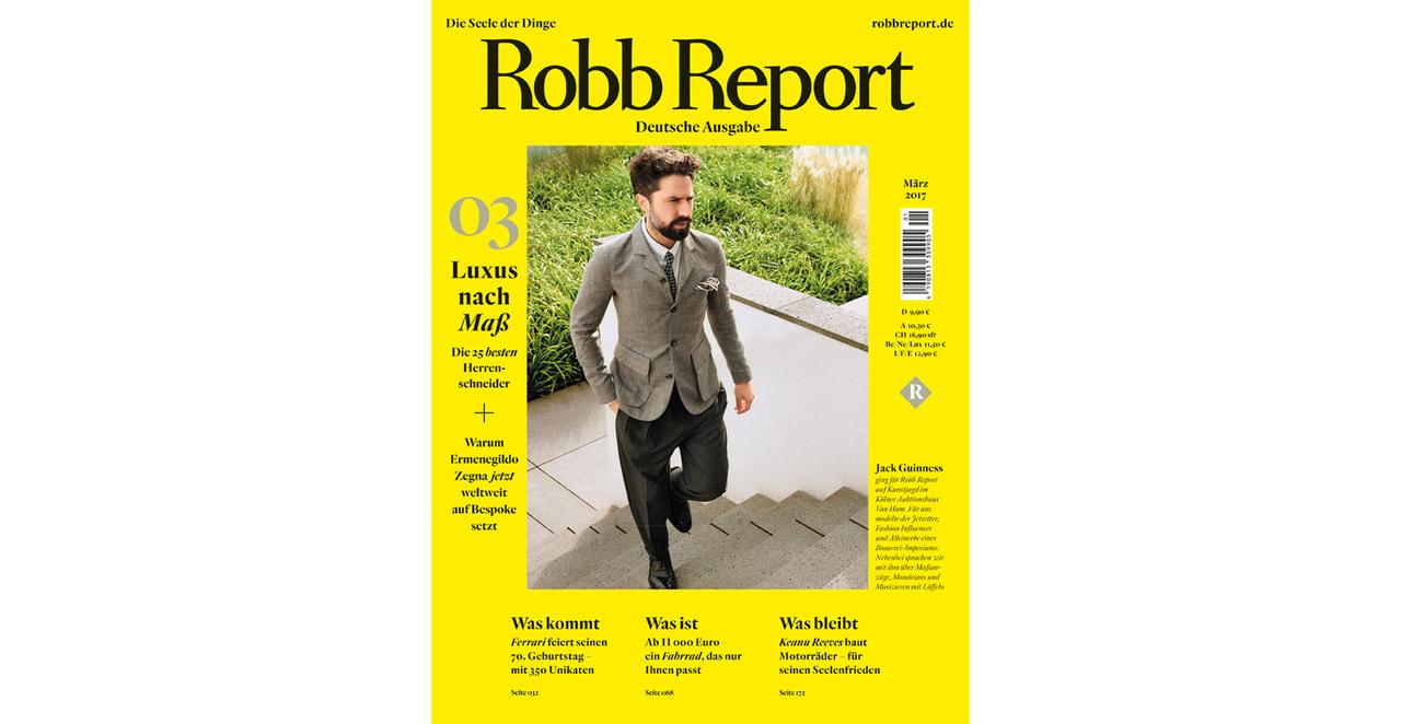 Robbreport Heft 1/2017