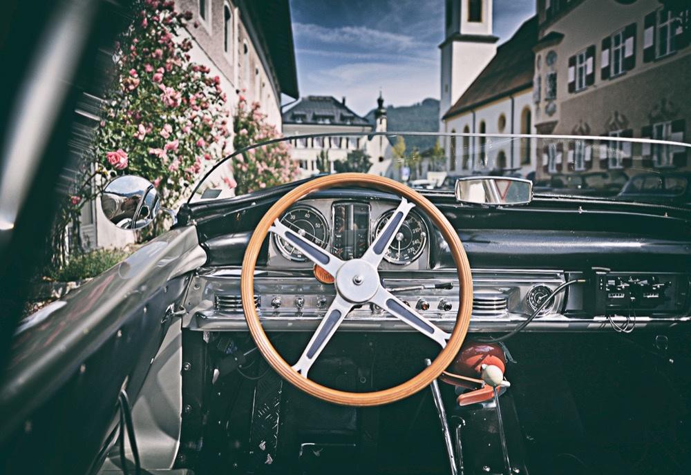 Mercedes SLS 1958, Innenraum