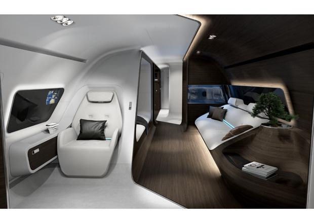 Mercedes-Benz Style VIP-Kabine, Lufthansa Technik, VIP-Kabine, VIP-Kabine