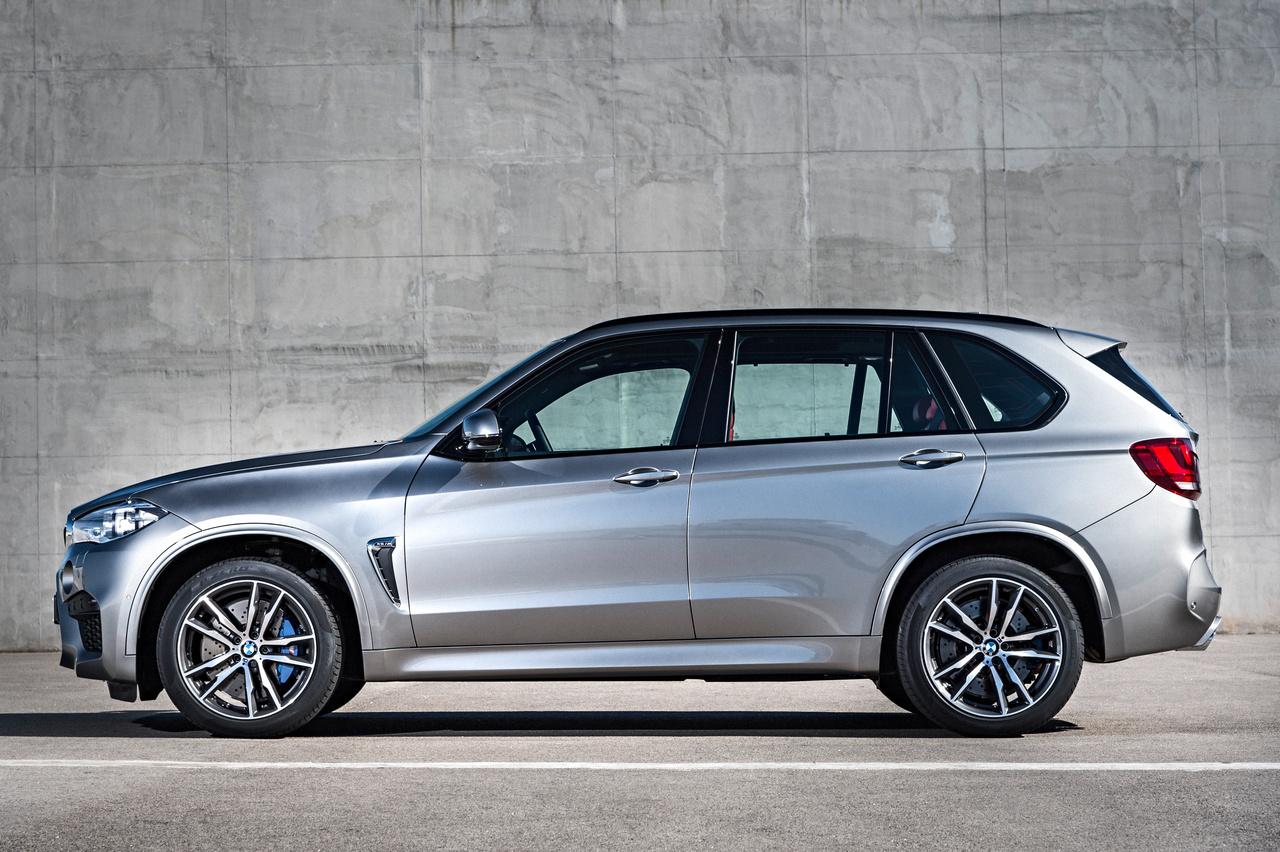 BMW-X5-M, Seitenansicht