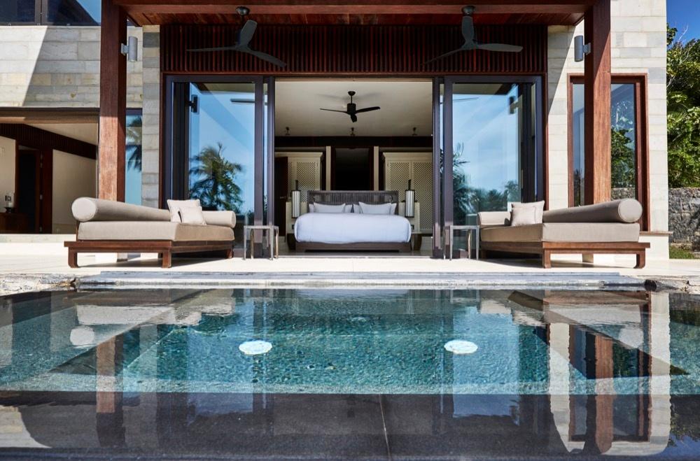 Poolblick der Ani Villas