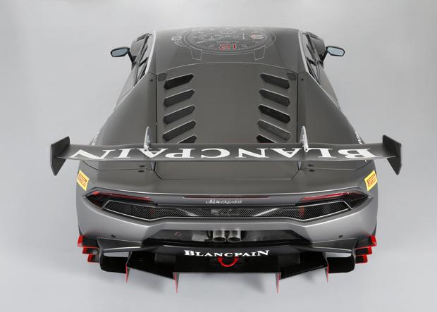 Lamborghini Hhuracan LP 620-2 Super Trofeo Heck