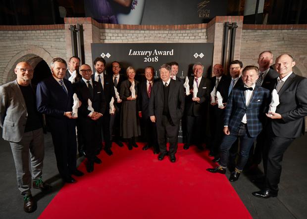 Gewinner Robb Report Luxury Award 2018