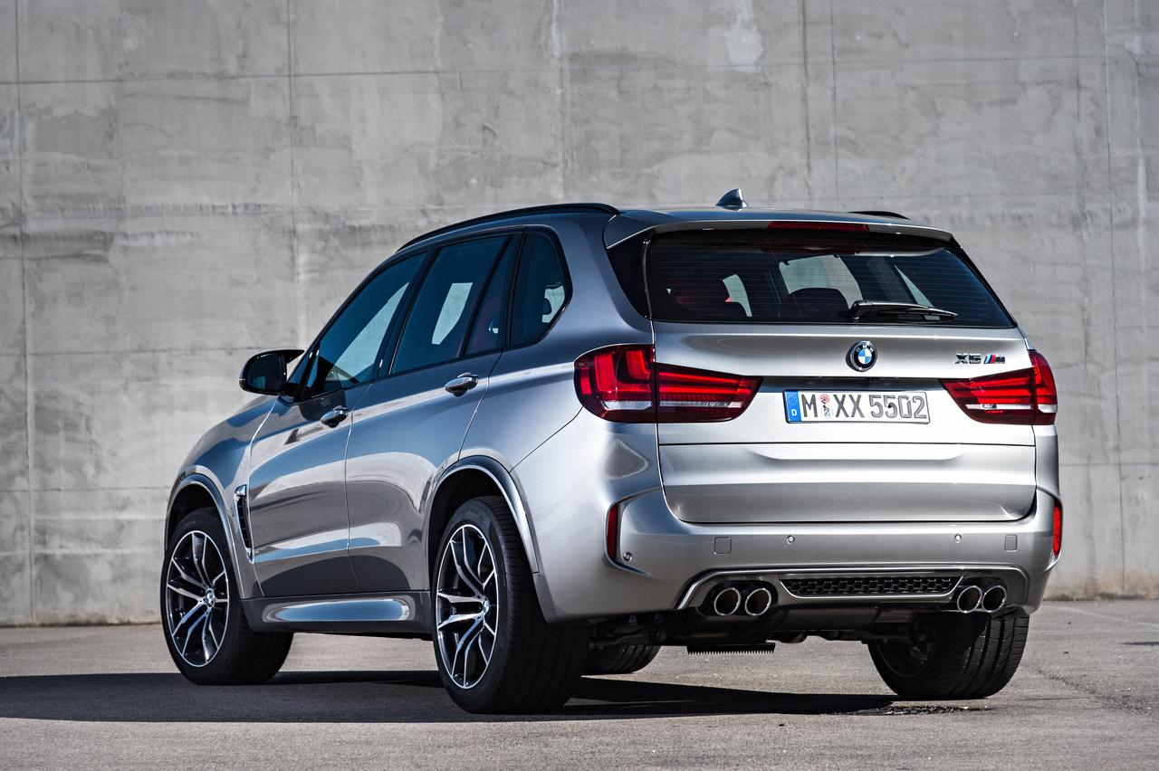 BMW-X5-M, Heckansicht