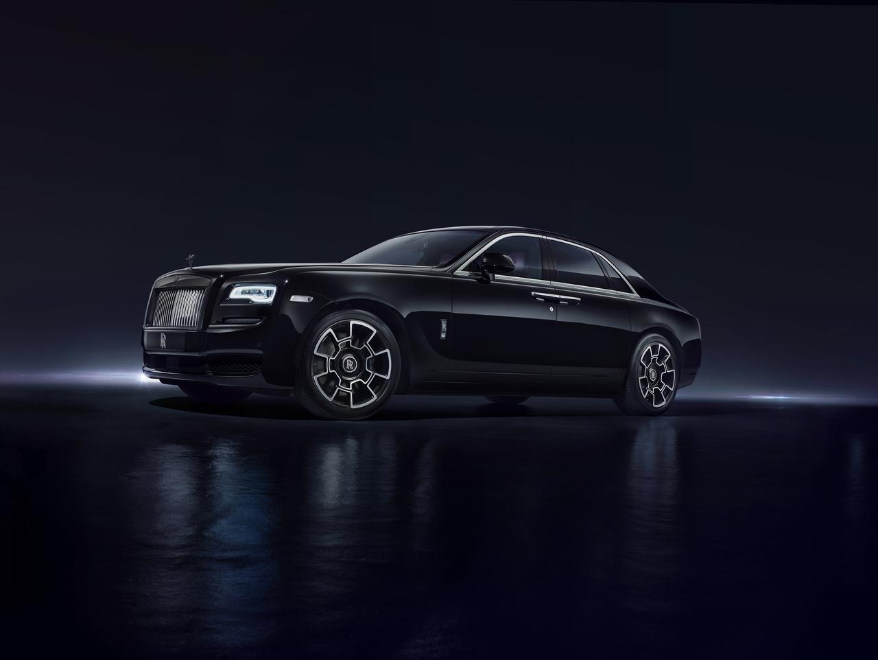 Rolls Royce black badge schwarz