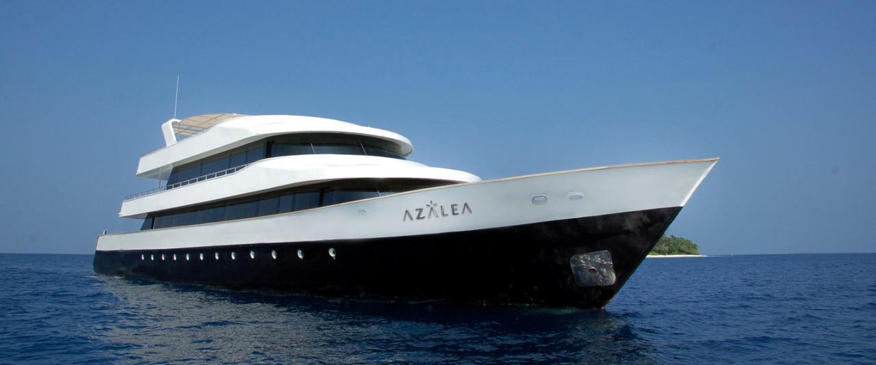 Azalea Yacht, Indisches Ozean