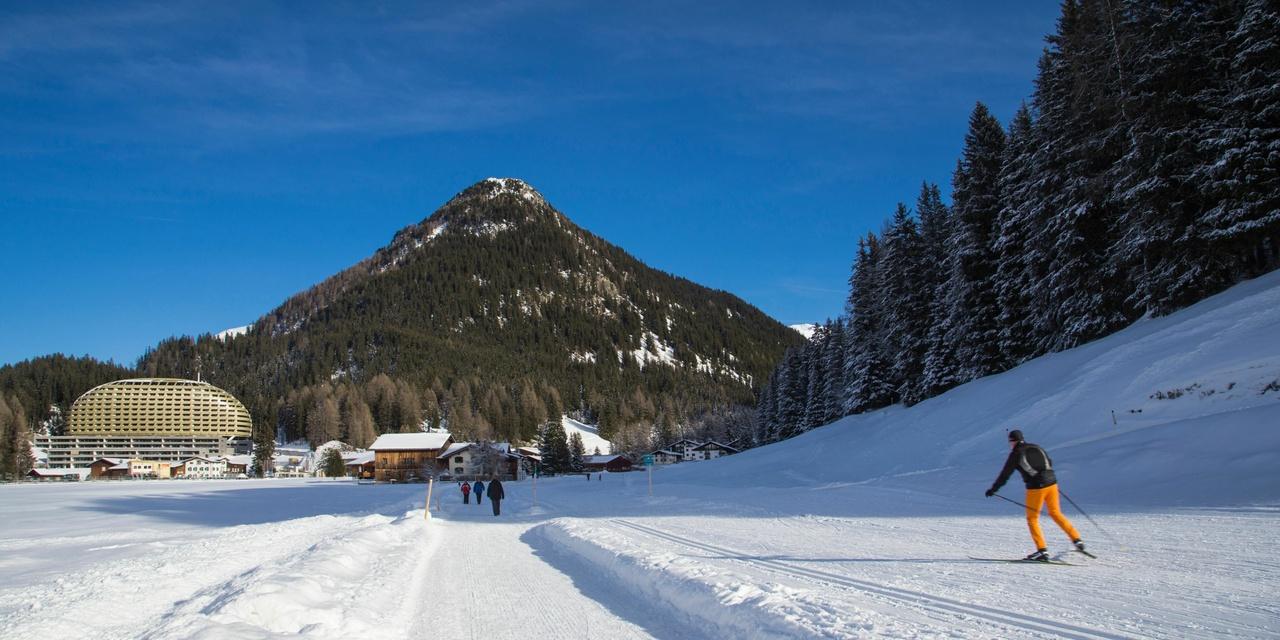 Intercontinental-Davos, Schweiz, Außenansicht, Schweizer Alpen