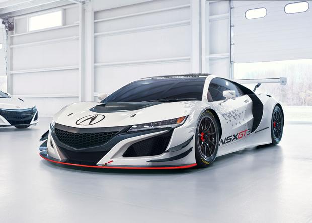 Acura NSX GT3 Race Car