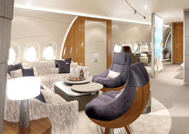 A350 VIP-Kabine, Lufthansa Technik, VIP-Kabine, VIP-Flieger